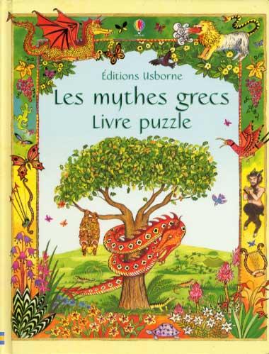 Les mythes grecs. Livre puzzle