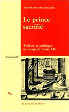Apostolidès, Le prince sacrifié