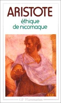 Aristote, Ethique de Nicomaque