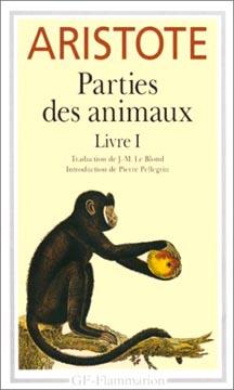 Aristote, Parties des animaux Livre I