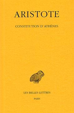 Aristote, Constitution d'Athènes