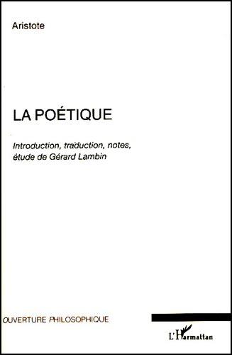 Aristote, La poétique