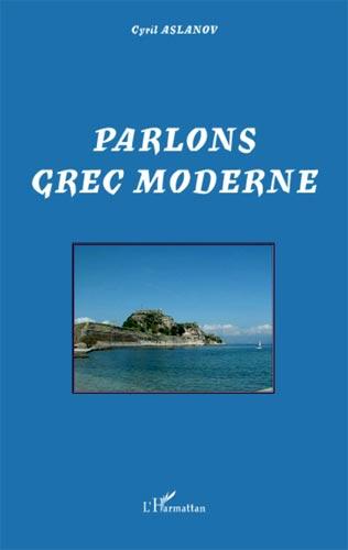 Parlons grec moderne