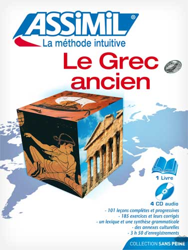 Le Grec ancien (Pack CD: book+CD)