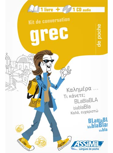 Spitzing, Grec. Kit de conversation (Guide + 1CD Audio)