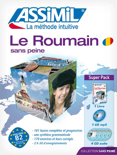 Assimil, Le Roumain sans peine (SuperPack book + CD + MP3)