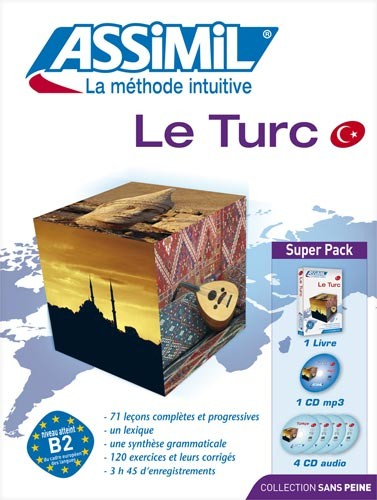 Le Turc - SuperPack Livre + 4 CD + mp3