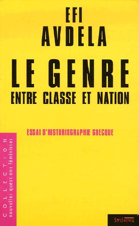 Avdela, Le genre entre classe et nation. Essais d'historiographie grecque