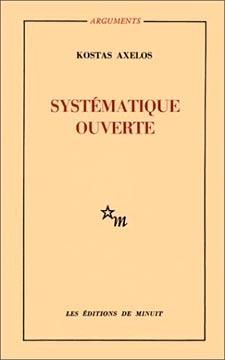 Axelos, Systématique ouverte