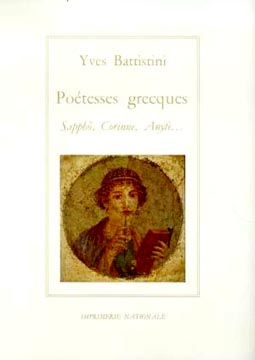 Battistini, Poétesses grecques : Sapho, Corinne, Anyté...