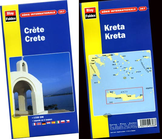 Crète carte 367