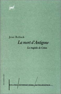 La Mort d'Antigone, la trag�die de Cr�on