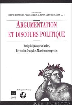 Bonnafous, Argumentation et discours politique