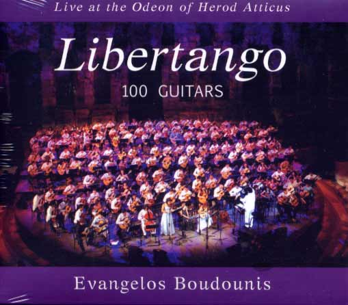 Boudounis, Libertango. 100 Guitars