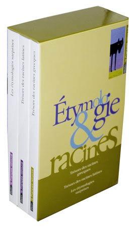Coffret Étymologie et Racines