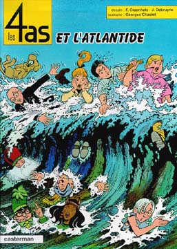 Les 4 as et l'Atlantide