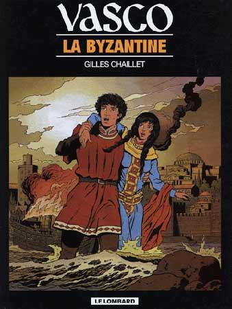 Chaillet, Vasco T3 : La byzantine