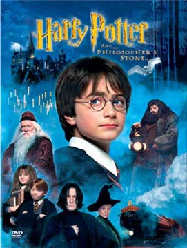 C, Harry Potter and the philosopher's stone