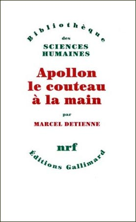 Apollon le couteau � la main