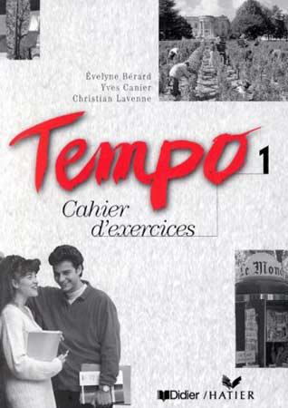 Didier, Tempo 1. Cahier d'exercices