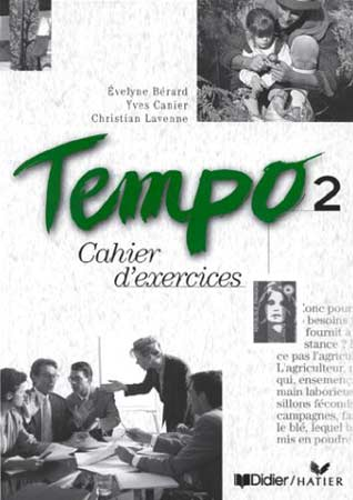 Didier, Tempo 2. Cahier d'exercices