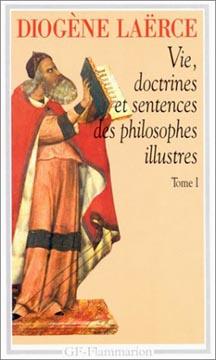 Diogène, Vie, doctrines et sentences des philosophes illustres, t1