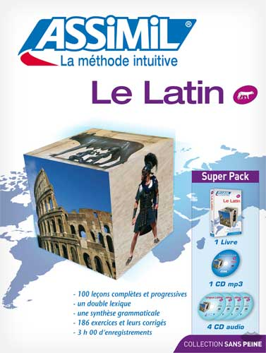 Le Latin. (SuperPack: livre + 4CD audio + mp3)