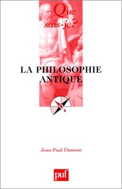 Dumont, La philosophie antique