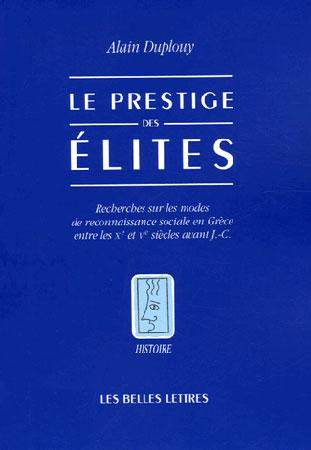 Le prestige des élites