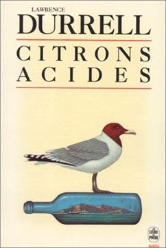 Durrell, Citrons acides (poche)