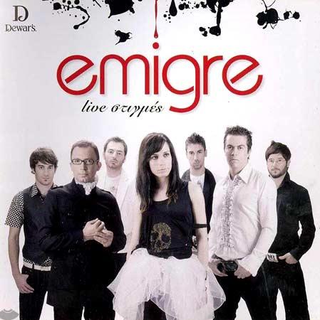 Emigre, Live stigmes