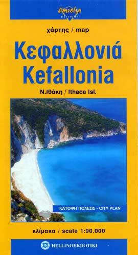 Cephalonie / Kefalonia carte