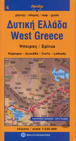 Western Greece map 4