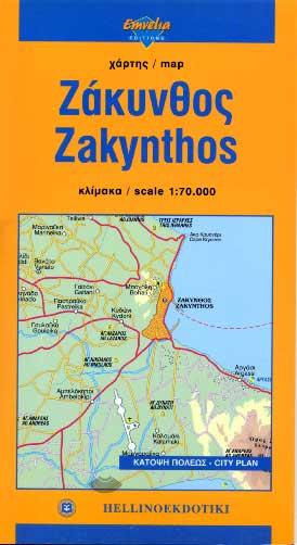 Zakynthos Karte