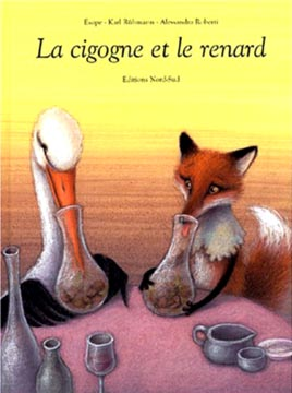 Esope, La cigogne et le renard