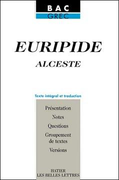 Euripide, Alceste