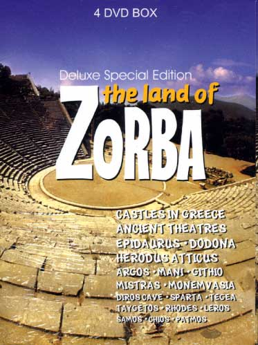 The Land of Zorba - 4DVD Box