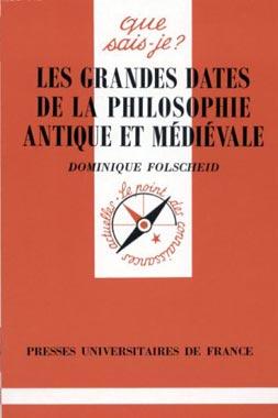 Les grandes dates de la philosophie antique et médiévale - N° 3138