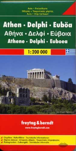 Freytag & Berndt, Athen - Delphi - Euböa