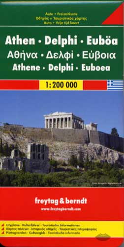 Freytag & Berndt, Athens - Delphi - Evvoia