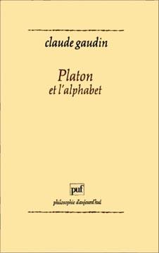 Platon et l'alphabet