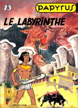 de Gieter, Papyrus, N°13 : Le labyrinthe