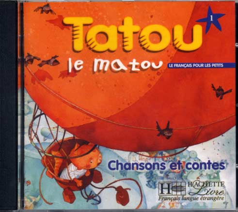 Hachette, Tatou le matou - niveau 1 - CD audio élève