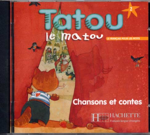 Tatou le matou - niveau 2 - CD audio �l�ve