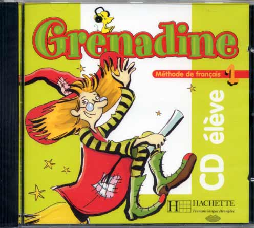 Grenadine - Niveau 1 - CD audio �l�ve