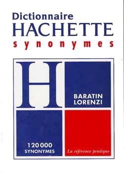 Hachette, Dictionnaire des synonymes