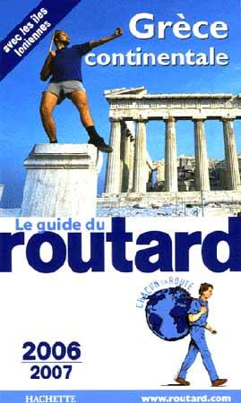 Guide du routard Grèce continentale 2006-2007