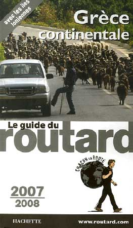 Hachette, Guide du routard Grèce continentale 2007-2008