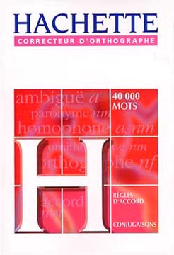 Hachette, Le correcteur d'orthographe