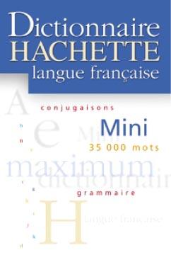 Hachette, Mini Dictionnaire Hachette de la langue française